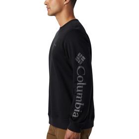 Columbia Logo Fleecetrøje Herrer, sort
